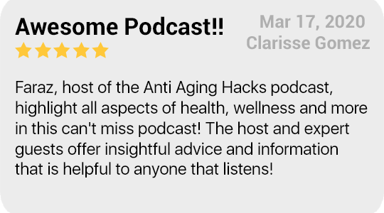 Anti-Aging Podcast Review