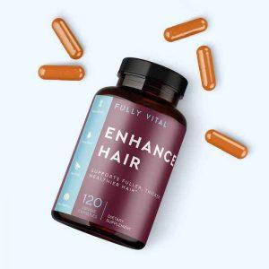 Fully Vital Enhance Hair Supplement